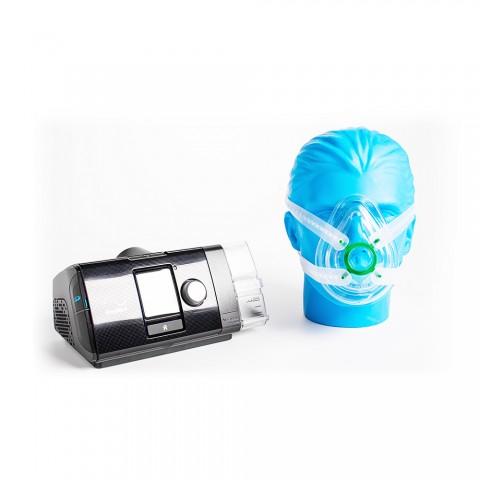Kit CPAP Resmed Airsense S10 + Máscara Simples Almofadada
