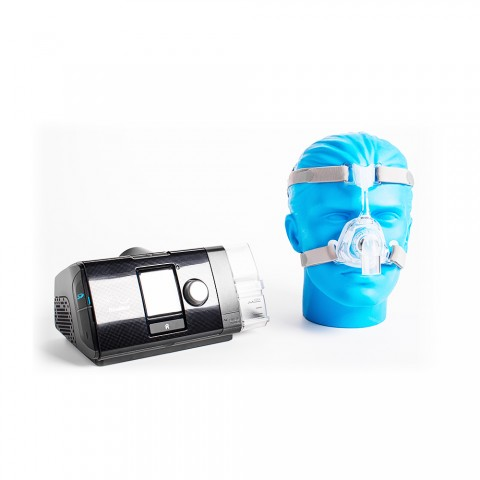 Kit CPAP Resmed Airsense S10 + Máscara Resmed Mirage FX